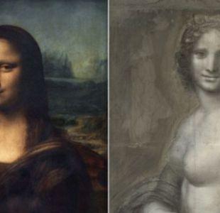 Expertos dicen haber encontrado en Francia la Mona Lisa desnuda