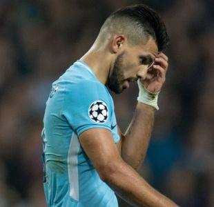 """Problemas para Sampaoli y Guardiola: Agüero estará de baja """"de dos a cuatro semanas"""""""