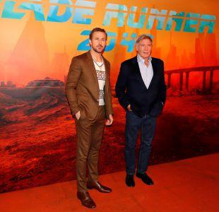 Ryan Goslin y Harrison Ford