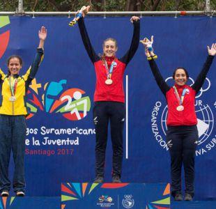 Chile suma nuevo oro en el ciclismo de los II Juegos Suramericanos de la Juventud