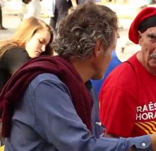 ¿Cómo están enfrentando los chilenos en Barcelona la alta tensión que ha provocado este conflicto?