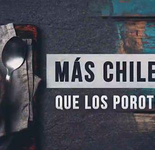 ReportajesT13: Más Chilenos que los porotos