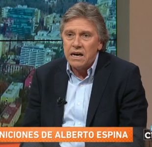 "Senador Espina por dichos de Letelier por Caso Quemados: ""Está moralmente dañada"""