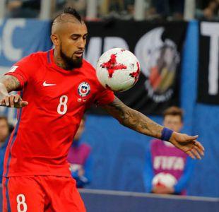 """Arturo Vidal a sus hijos: """"Papá tiene que trabajar y llevar a Chile al Mundial"""""""