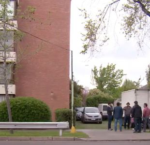 [VIDEO] Violento portonazo a mujer y sus hijas en Las Condes