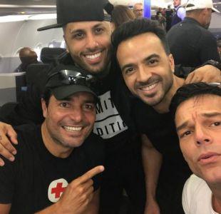 Chayanne, Nicky Jam, Luis Fonsi y Ricky Martin