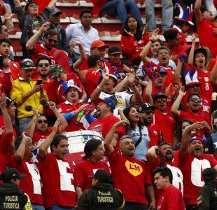FIFA multa a Chile por décima vez debido a cantos homofóbicos de sus hinchas