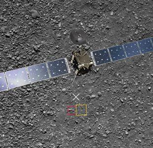 La imagen perdida tomada por la sonda Rosetta y recuperada un año del fin de la misión