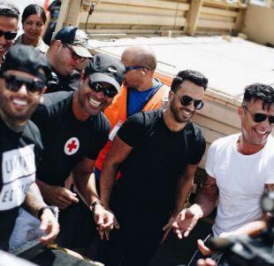 Artistas ayudando en Puerto Rico