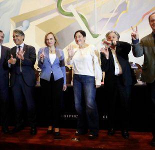 Cinco momentos que marcaron el debate presidencial con los premios nacionales