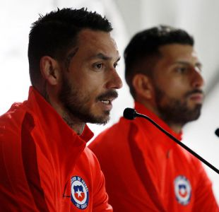 """Mauricio Pinilla: """"A nosotros no se nos pasa por la cabeza quedar fuera del Mundial"""""""