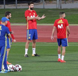 [VIDEO] Las pifias a Gerard Piqué en práctica de la selección española