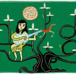 Violeta Parra: Doodle  de google rinde homenaje a la artista