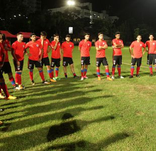 """[FOTOS] """"La Roja"""" sub 17 vive segundo día de prácticas de cara al debut con Inglaterra"""