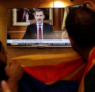 """Felipe pide que se asegure """"orden constitucional"""" de España"""