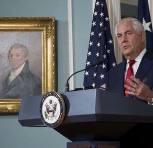 Secretario de Estado de EE.UU, Rex Tillerson, descarta renuncia