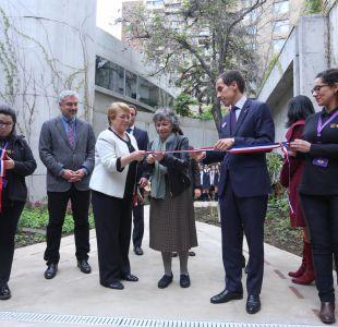 Bachelet y Ottone en el Museo de Violeta Parra