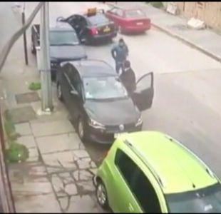[VIDEO] El tour delictual para robar autos