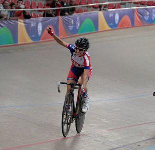 Ciclista Catalina Soto le da el séptimo oro a Chile en Juegos Suramericanos de la Juventud