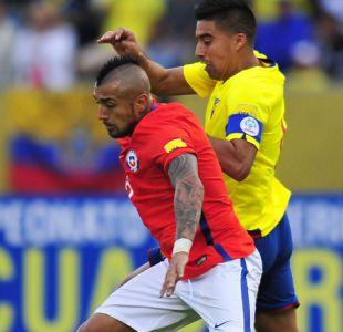 Chile se mide ante Ecuador con la obligación de ganar para seguir soñando con Rusia 2018