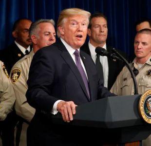Trump evita hablar sobre control de armas