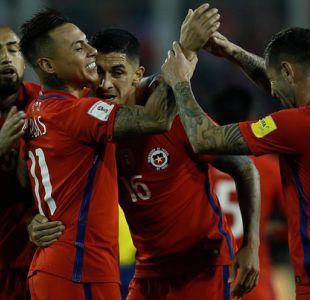 """""""La Roja"""" logra sufrido triunfo sobre Ecuador y sueña con el Mundial de Rusia"""