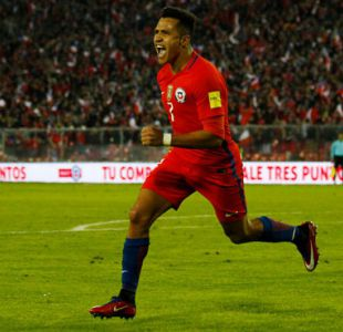 """Alexis se consolida como goleador histórico de """"La Roja"""" y Vargas supera a Zamorano"""