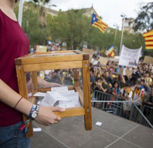 Gobierno catalán: 90,18% de votos a favor de la independencia en polémico y prohibido referéndum