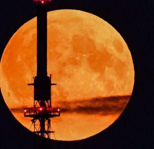 ¿Por qué se ve más grande la espectacular Luna de la cosecha?