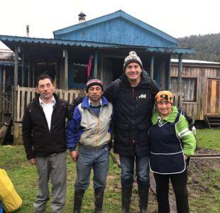 """Pancho Saavedra viaja al sur de Chile en lo nuevo de """"Lugares que hablan"""""""
