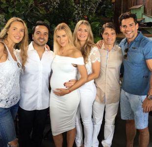 Angélica Castro y Cristián de la Fuente son parte del círculo de amigos de Luis Fonsi
