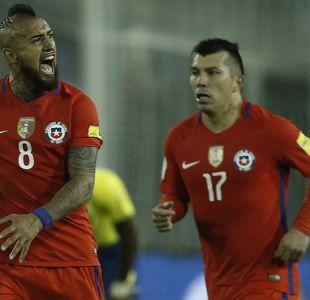 Gary Medel y Arturo Vidal agradecen el apoyo en victoria de La Roja sobre Ecuador