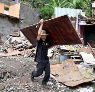 Huracán Nate deja devastaciones en su paso por Centroamérica