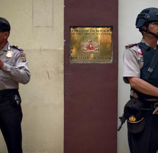 policía indonesia