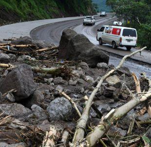 El paso de Nate por Honduras, donde dejó 3 personas fallecidas.