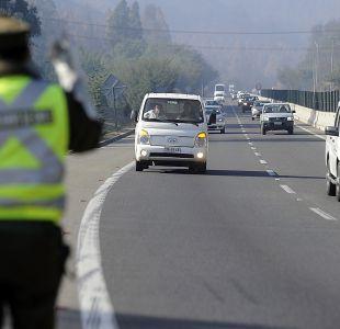 Balance de Carabineros por fin de semana largo: 6 fallecidos por accidentes viales