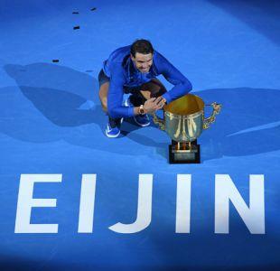 Rafael Nadal vence a Kyrgios en la final de Beijing para alzar el título 75° de su carrera