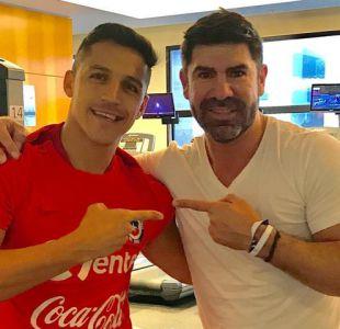 "Dupla letal: Alexis Sánchez se motiva junto al ""Matador"" Salas para duelo con Brasil"
