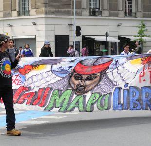 marcha pro la resistencia mapuche