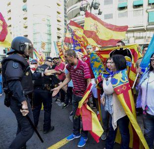 Gobierno español pide al presidente catalán que no haga nada irreversible
