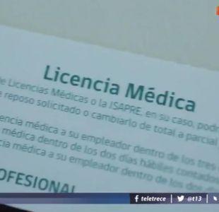 [VIDEO] Reportajes T13: los médicos que otorgan más licencias médicas
