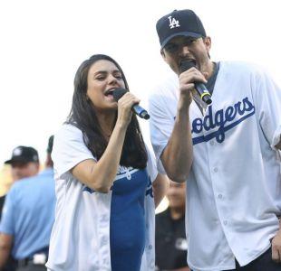 Mila Kunis y Ashton Kutcher