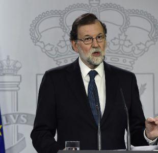 Rajoy amenaza con intervenir la autonomía catalana
