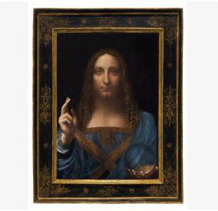 Retrato de Cristo pintado por Da Vinci se subastaría por 100 millones de dólares