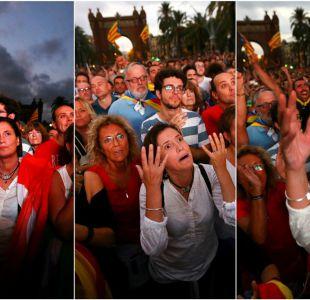 [FOTOS] Cataluña, de la incertidumbre al éxtasis