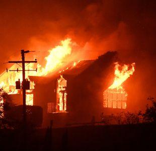 [FOTOS] Los incendios forestales arrasan los valles de California