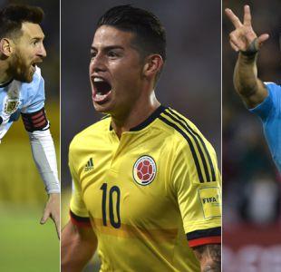 Argentina, Colombia y Uruguay clasifican al Mundial y Perú jugará el repechaje