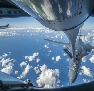 Bombarderos de Estados Unidos sobrevuelan península coreana en desafío a Norcorea