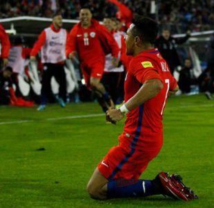 """Cavani termina como goleador de las Clasificatorias y Alexis fue el máximo anotador de """"La Roja"""""""