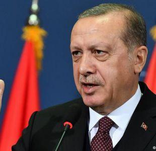 Erdogan aumenta tensión diplomática con EE.UU.